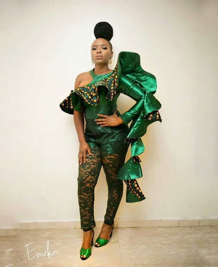 yemi alade lashes out at colleagues who increase their butts in photos - Singer Yemi Alade Reveals She is Suffering From a Rare Disease