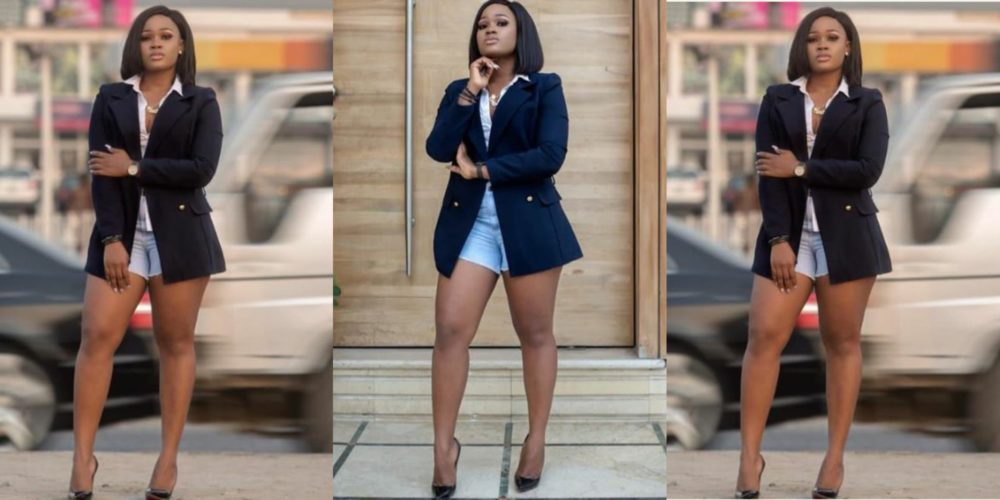 cee c dazes her fans as she stuns in bum shorts photos - Beauty And Brains: Cee -C Shares Extremely Gorgeous Photos