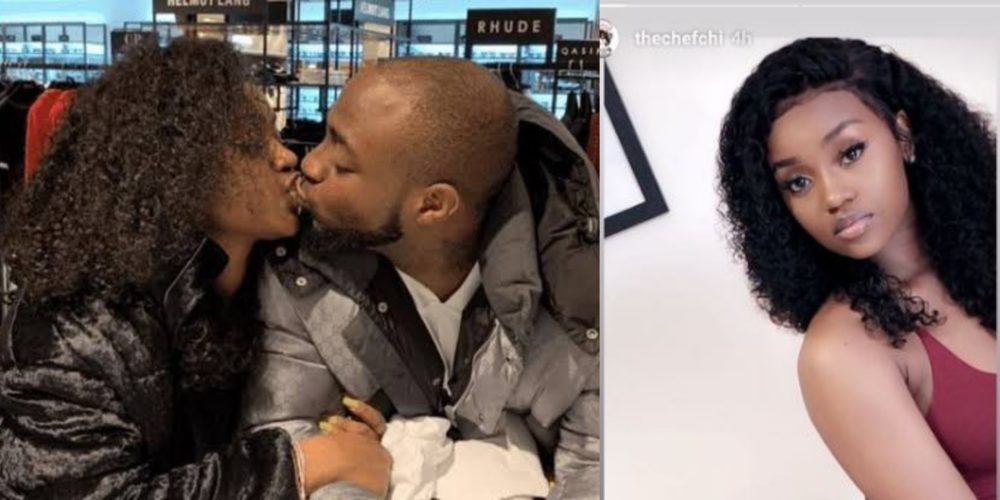 davidos girlfriend chioma returns back to ig shares adorable stunning photos - Was Davido Right To Have Spanked Chioma's Bum Bum??? – See What Nigerians Are Saying