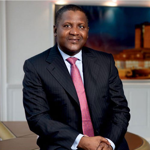 """forbes list dangotes worth drops to 10 3bn from 25 billion in 2015 nigerians react - """"How I Finally Knew That I Am Rich"""" – Dangote"""