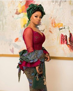 toke makinwa shows support for banky w for house of representatives seat - Men who call women gold-diggers are broke – Toke Makinwa