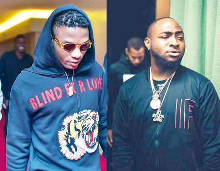 wizkid and davido - See video that started the war between Wizkid FC anf Davido Fans