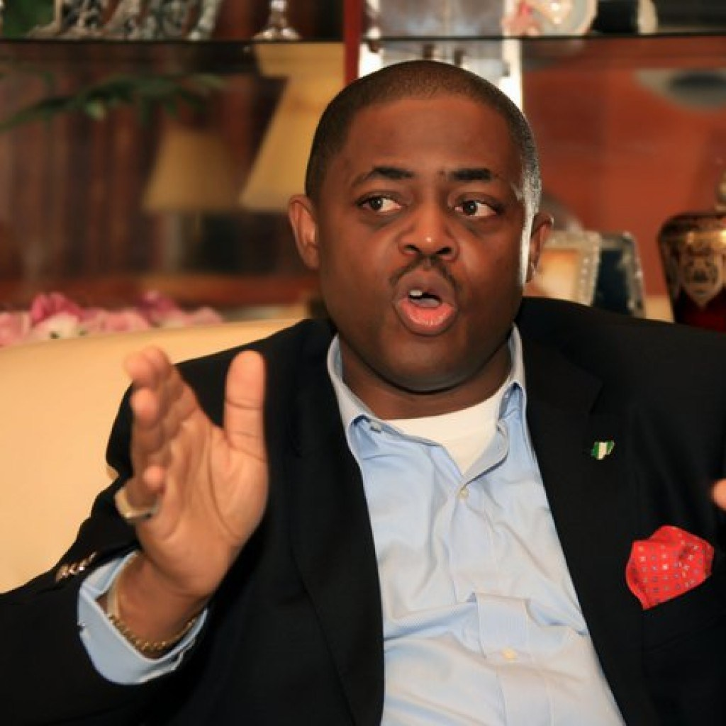 "you are an agent of satan fani kayode slams fr mbaka - Fani Kayode bashes Gbajabiamila for ""begging, crawling and grabbing thighs and knees in desperation"" to become HOR speaker"