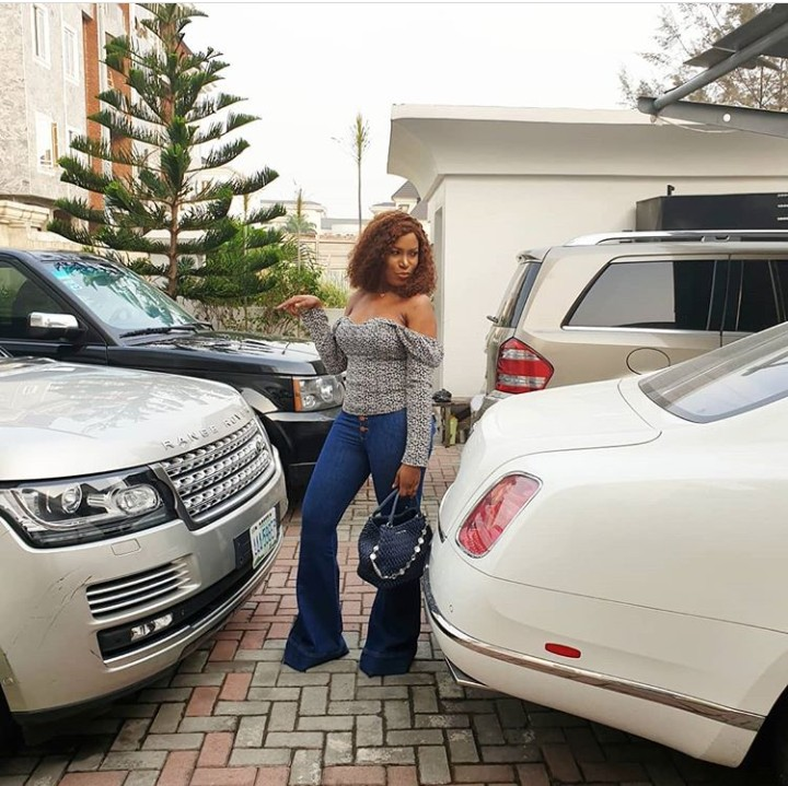 0 IMG 20190217 193444 408 - Nothing beats having your own money, Linda Ikeji says she worries about which of her 4 expensive cars she'll use today