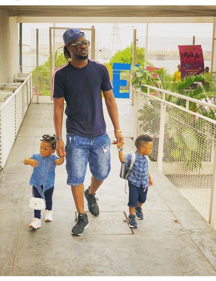 0 IMG 20190220 160434 626 - This photo of Paul Okoye and his twins is everything