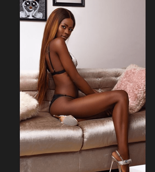 1 79 - BBnaija's Khloe flaunts her hot body in sexy lingerie