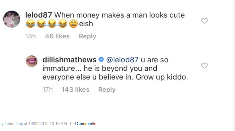 2 20 - Dillish Matthews puts social media troll in his place over boyfriend Emmanuel Adebayor