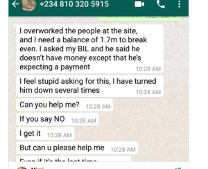 2 23 - Nigerian lady outs boyfriend who used 'jazz' on her to extort money