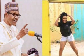 Do not vote Buhari in again – Afia Schwarzenegger warns