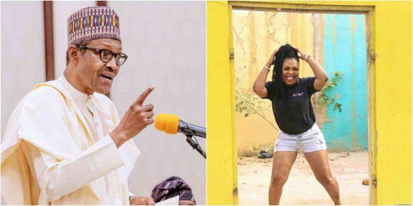 3 10 - Do not vote Buhari in again – Afia Schwarzenegger warns