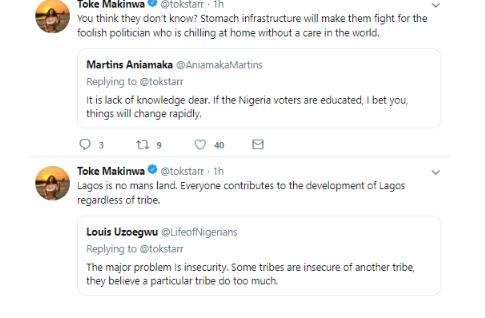 3 20 - iI hope we all appreciate Goodluck Jonathan Now – Toke Makinwa speaks on election violence