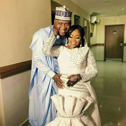 4 - See photos of actress Tawa Ajisefinni as she ties the knot in Ibadan