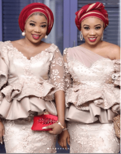 6 2 - Bimbo Oshin, Seyi Edun, attend Tawa Ajisefinni's wedding (Photos)