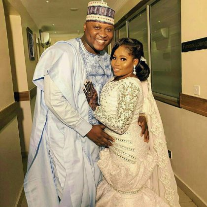 6 - See photos of actress Tawa Ajisefinni as she ties the knot in Ibadan