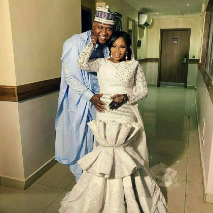 7 - See photos of actress Tawa Ajisefinni as she ties the knot in Ibadan