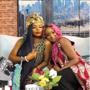 Capture 12 - Yemi Alade and DJ Cuppy working on different projects, Nigerians react