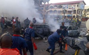 D0Ed6I7X4AAQpmW - #NigeriaDecides: Explosion in Maiduguri
