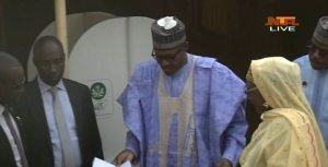 D0EouzVWkAA7Boc - #NigeriaDecides: President Buhari Cast Ballot Early in Daura