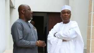 Melaye saraki 1 - #Nigeria Decides: Saraki Accepts Defeat