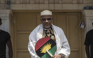 Nnamdi Kanu - Biafra supporters throw tantrums as court orders Nnami Kanu's rearrest