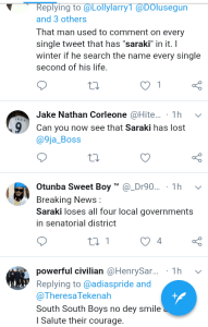 "Screenshot 20190224 2215262 - #Nigeria Decides: ""Saraki is Winning in Dubai"" – Nigerians React to Polls"
