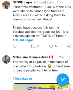"""Screenshot 20190228 1920522 - """"The Movement Has Started"""" – See What Nigerians Are Saying About Lagos"""