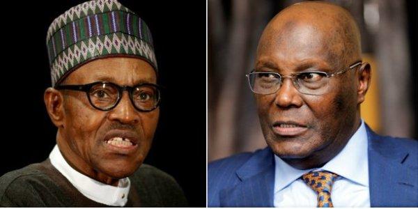 collage buhari atiku nigeria - Nigeria Decides: Atiku Retains Lead in Yola, Adamawa