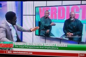 """Dino torturing and at the same time lecturing lower version of lai muhammed festus keyamo"" – See What Nigerians Are Saying After The Two Lawyers Were Invited On Live Program By Channels"