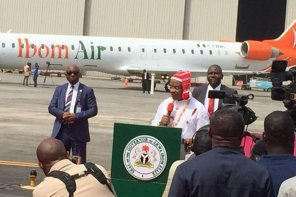 Akwa Ibom State Governor, Emmanuel Udom, Shows Off His Administration's Achievement In Aviation