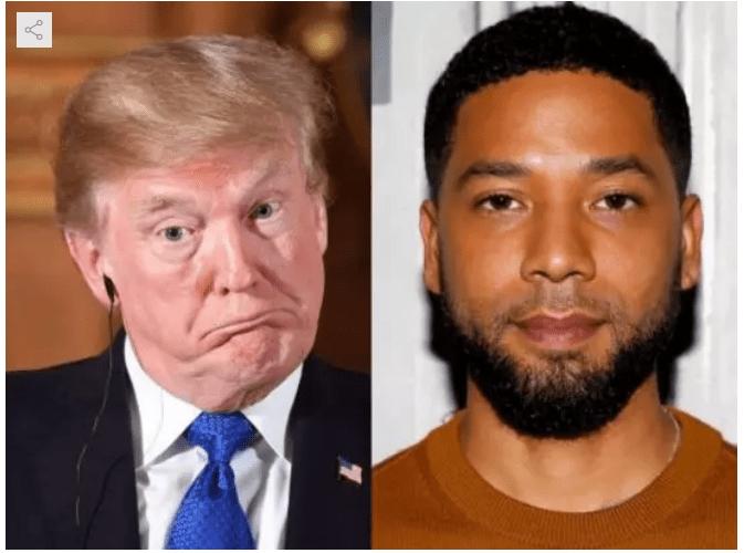 1 69 - Jussie Smollett's case is a national embarrassment – Donald Trump