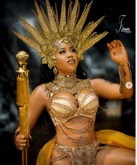 5 1 - Oh Wow! Toyin Lawani releases new drop-dead gorgeous images as she turns 37(Photos)