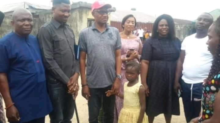 'Viral little girl' gets scholarship from Sapele LGA