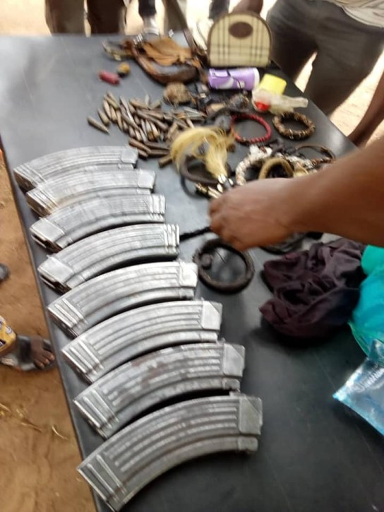 5c7a60b49a1bc - Kidnappers Caught In Benue With Charms and Ammunition [See Photos]
