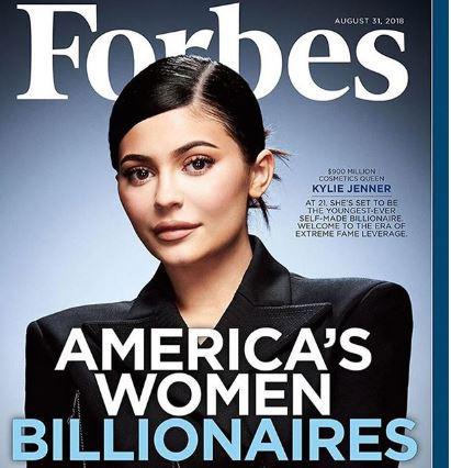 5c7eb995d9f08 - Kylie Jenner beats Mark Zuckerberg to emerge youngest self-made billionaire