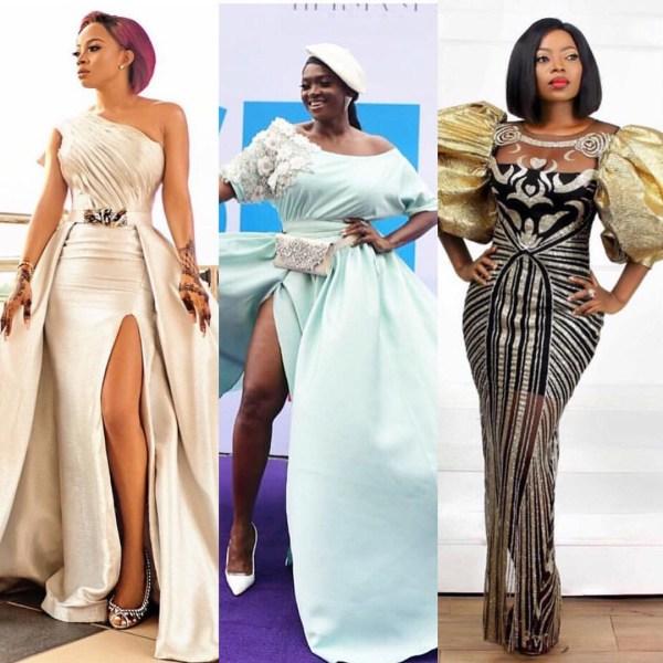 5c8674fd46af9 - [Photos]: Toke Makinwa, Waje, Osas Ighodaro, others slay on the red carpet of a movie premiere