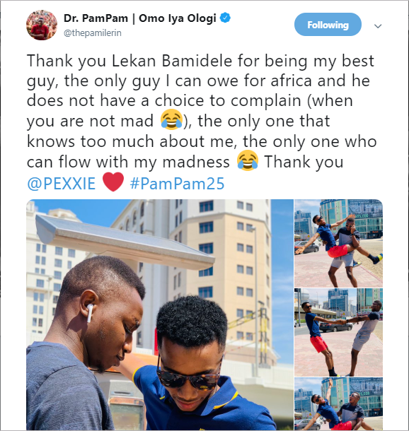 5c868ba99d85d - 'When are you guys getting married?' Viral photos of two Nigerian social media influencers spark gay rumors