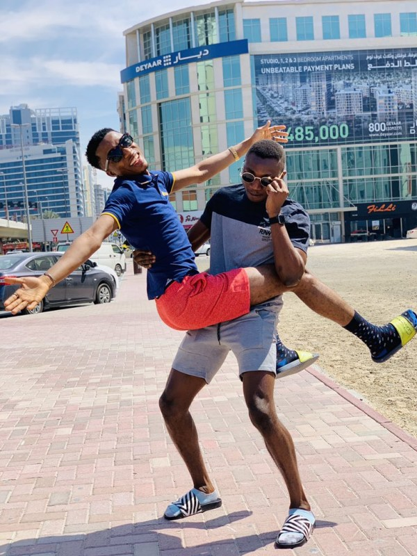 5c868bc1716a3 - 'When are you guys getting married?' Viral photos of two Nigerian social media influencers spark gay rumors