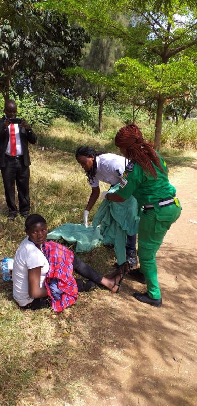 5c90cafedc45a - [Photos]: Pregnant homeless woman gives birth unassisted in a park [Photos]