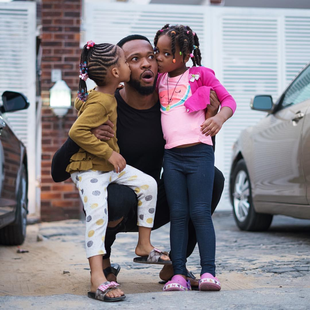 5ca05d4268dd5 - [Photos]: Awww! Flavour releases adorable new photos of his daughters