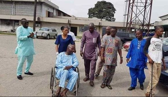 Baba Suwe dischaged - Baba Suwe Gets Discharged From LUTH