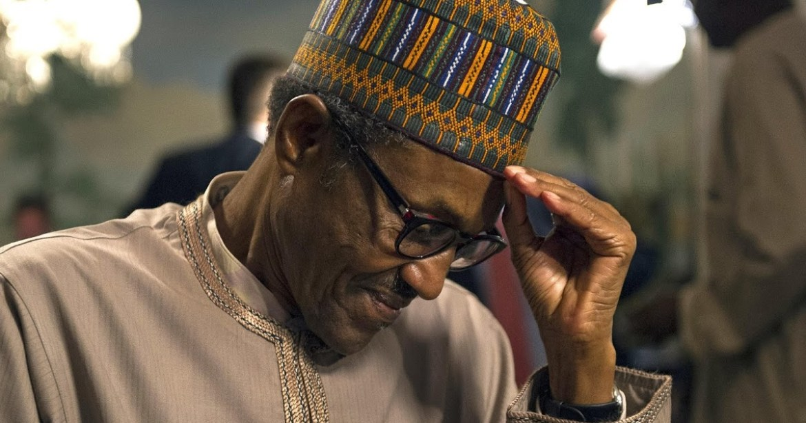 Buhari Thinking new sad tired vex - Most Miserable Country – Nigeria Ranked sixth In The World