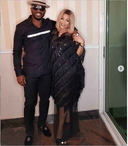 Capture 1 - Adaeze Yobo and husband Joseph Yobo are lovely in new photos