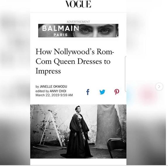 Capture 54 - Adesua Etomi featured in Vogue again!