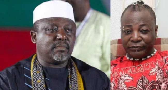 Charly Boy and Rochas - CharlyBoy mocks Okorocha over his son-in-law's governorship election loss