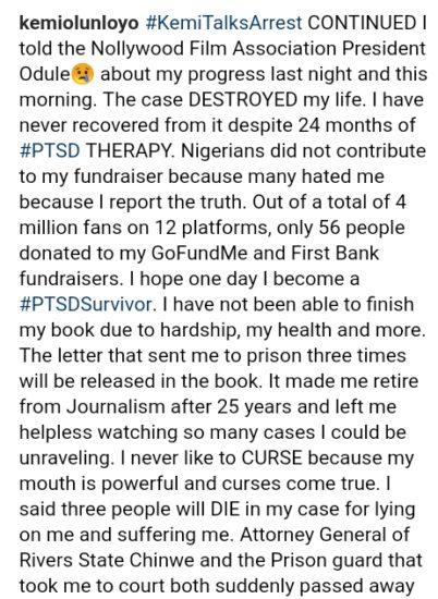 D18E6817 2EFB 49A6 9AE4 21ABD9CEDFF4 - How Actress Iyabo Ojo Sent Kemi Olunloyo To Prison