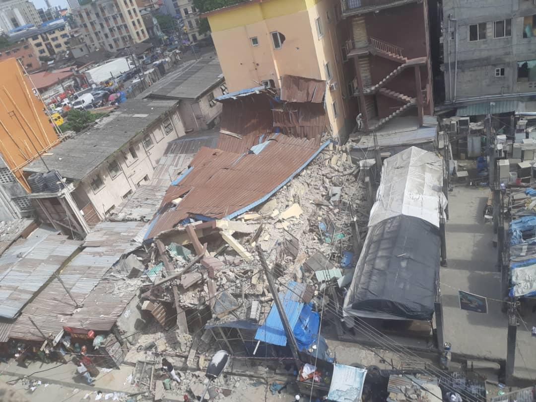 Kakawa Street lagos building collapse