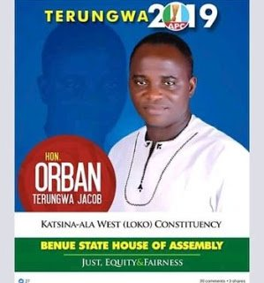 Benue State: N-Power Beneficiary Becomes  A Lawmaker