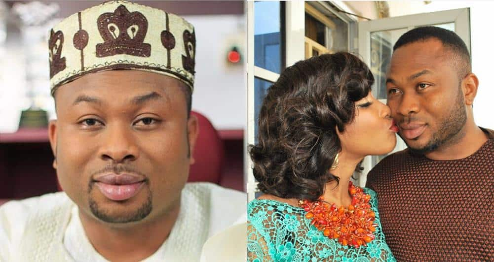 I met Tonto Dikeh at a night club – Olakunle Churchill - Finally! Tonto Dikeh Gives Reason Why She Talked About Her Ex-Husband's Sexual Performance