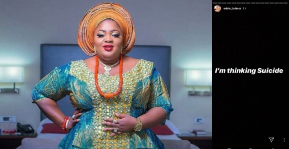 Nollywood Actress, Eniola Badmus Causes Commotion On Social Media After Sharing This Post
