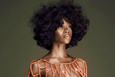 Swimsuit model Michelle Okoro poses completely naked to promote girl power